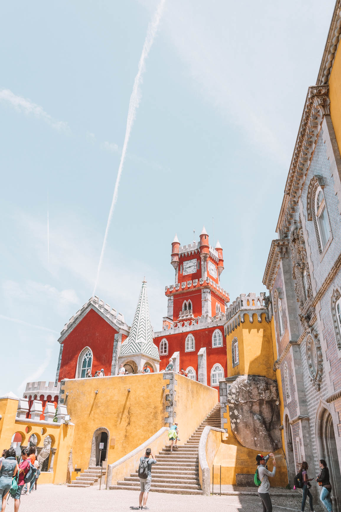 Palacio da Pena Day trip From Lisbon to Sintra  #Portugal #Europe #TravelBlog