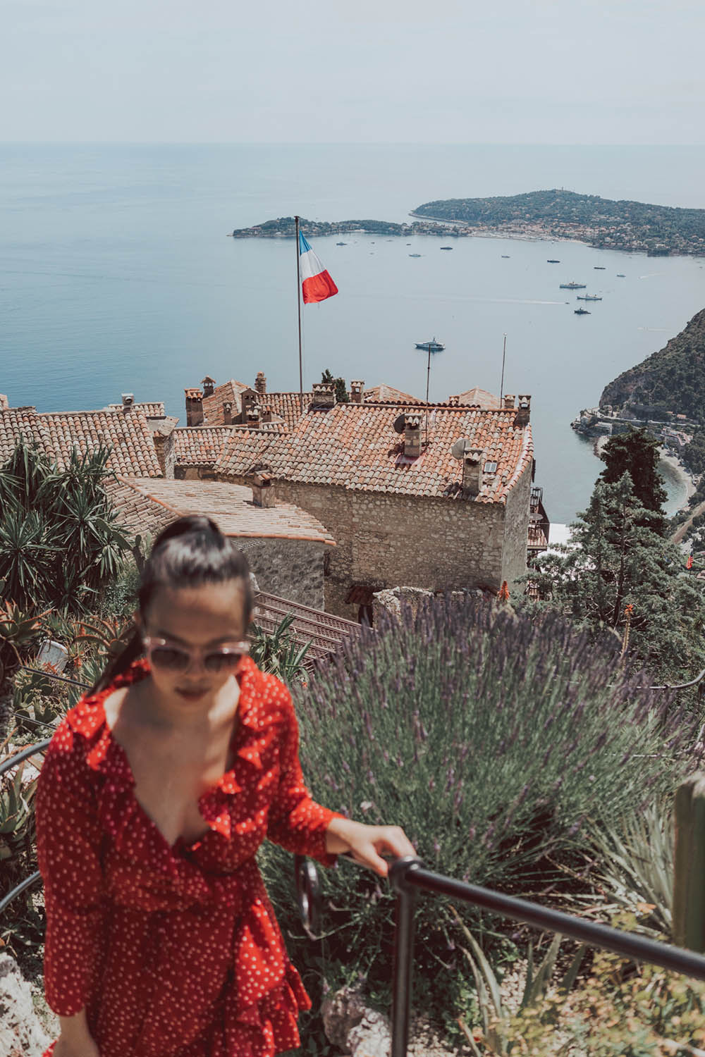 Eze Village France - Day Trip South of France #Europe #France #RoadTrip The Medieval village you need to visit in Provence. Day trip from Nice
