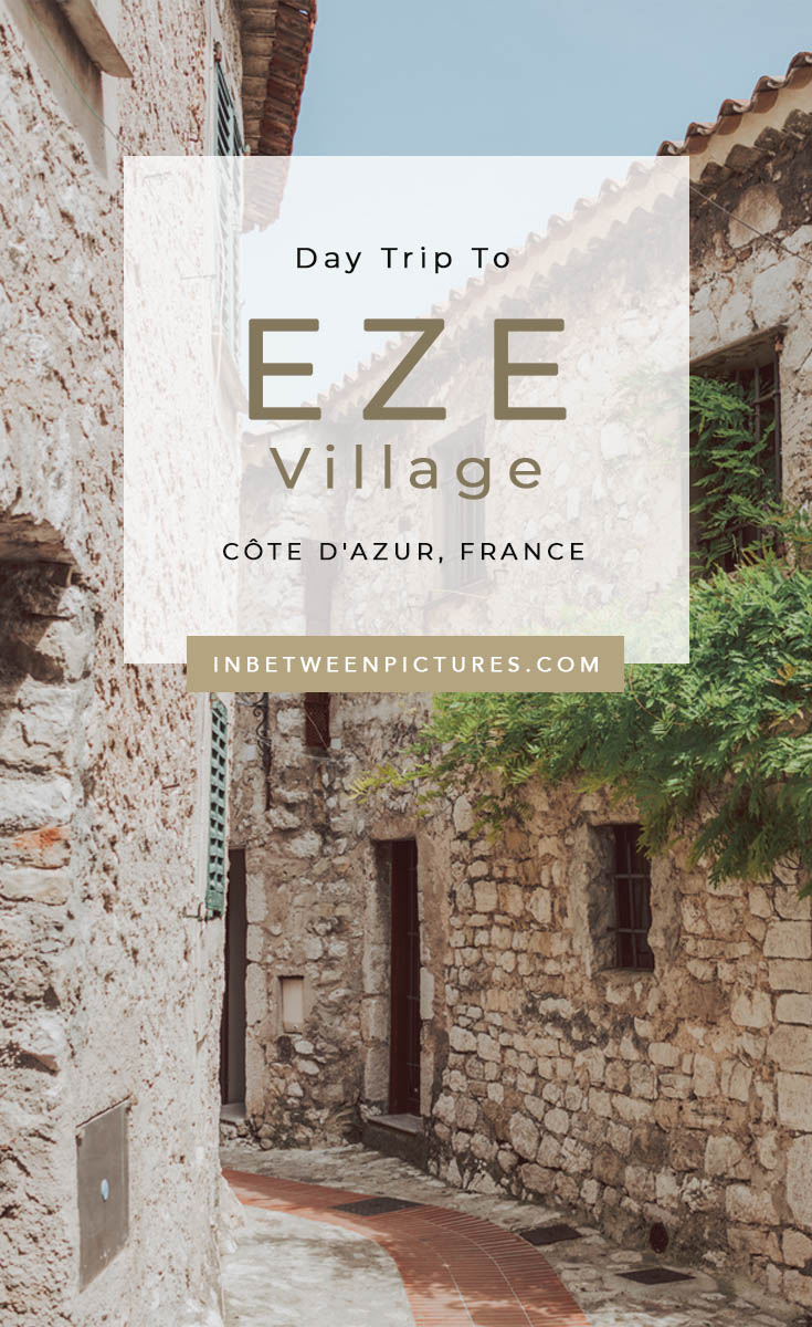 Day Trip To Eze Village South of France Provence - Fun things to do in this small French medieval village perfect for a day trip from Nice #France #Europe #SmallTown