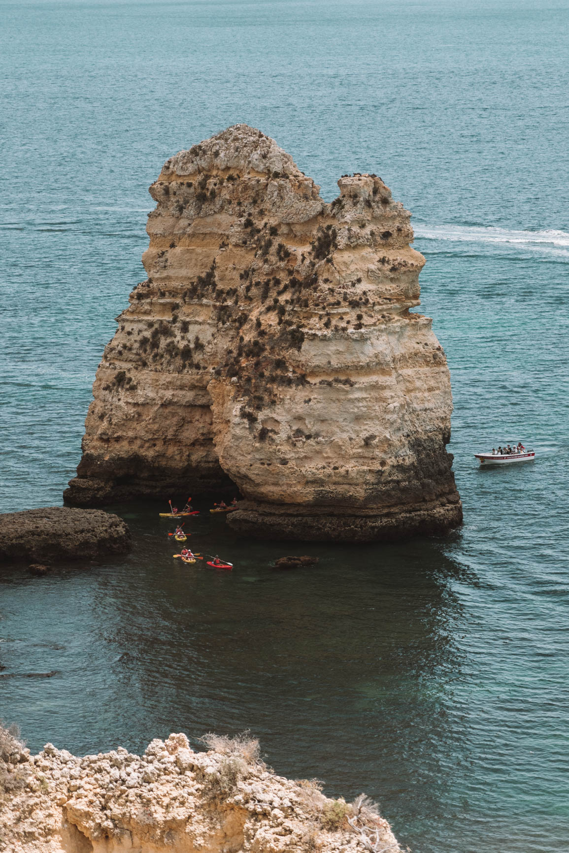 Kayaking in Lagos - Fun things to do in Lagos Algarve Portugal #Portugal #Europe
