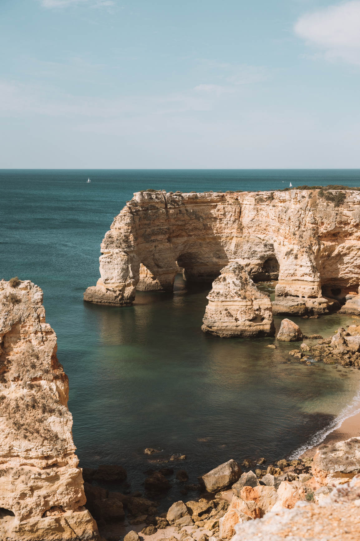 Hiking in Lagos Portugal - Your complete guide to Lagos Algarve Portugal. Everything you need to know including where to eat, where to stay, and what to do. #Portugal #Europe