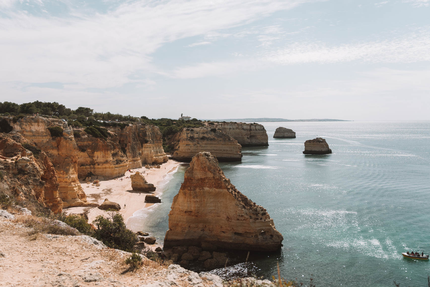 Beach view - Seven Hanging Valleys Trail West Algarve Portugal - 30 minutes away from Lagos #Portugal