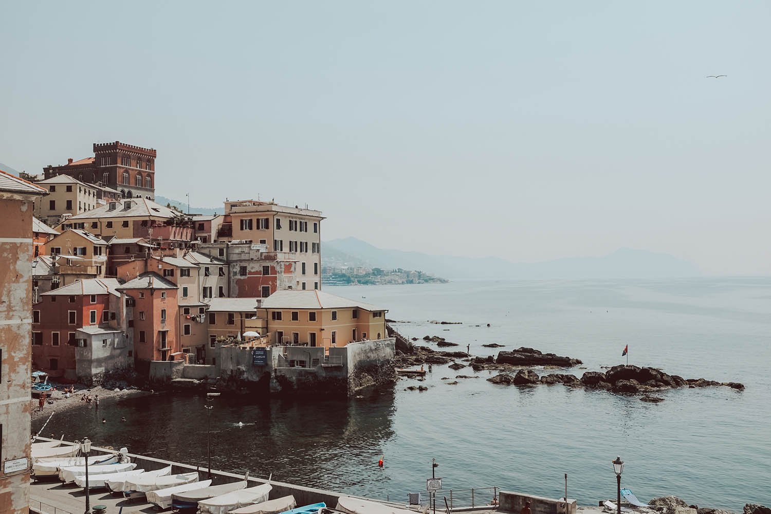 Genoa Travel Blog - 9 Fun Things To do in Genoa. Boccadasse  Day Trips From Genoa