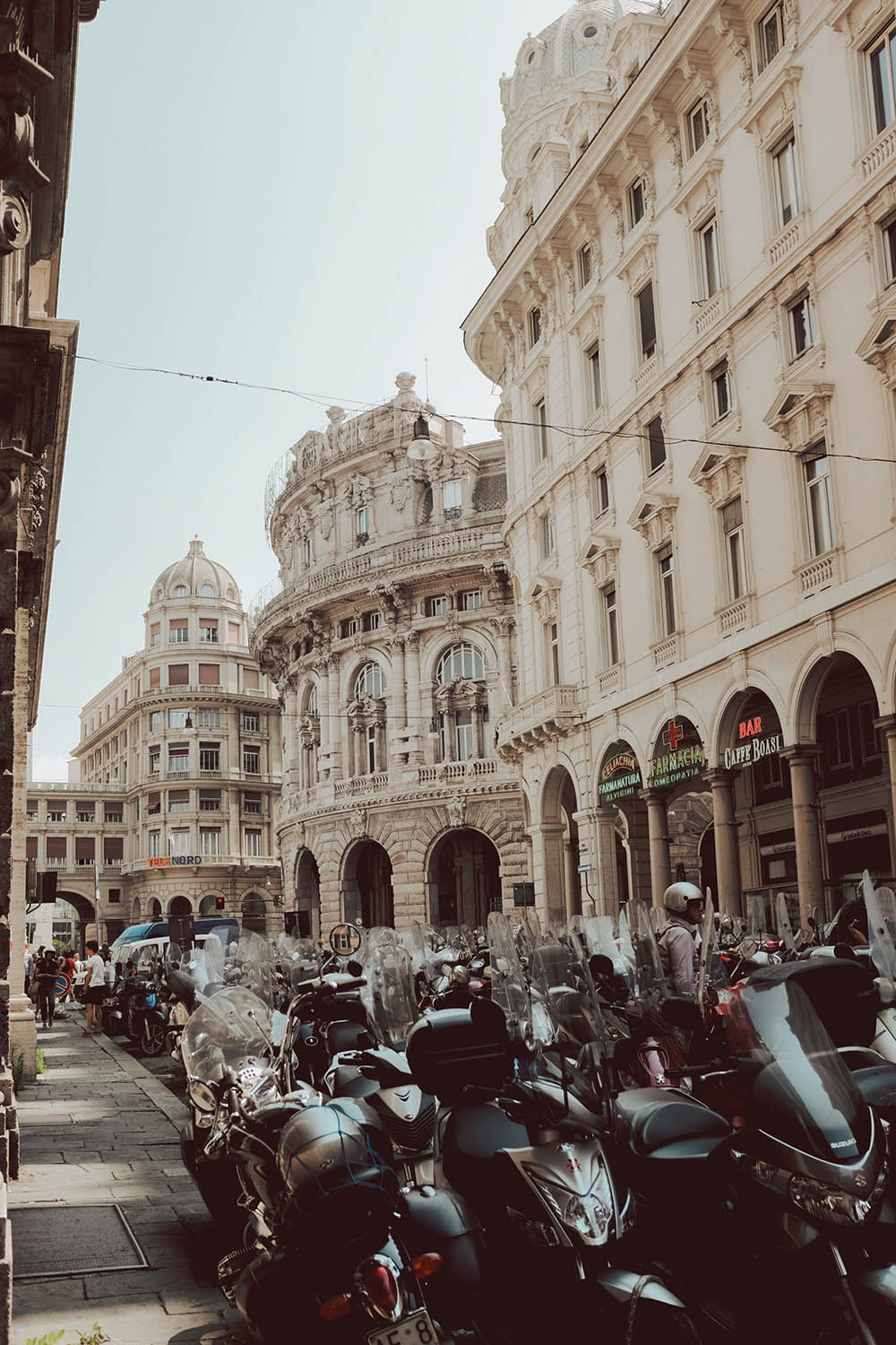 Fun things to do in Genoa Italy - Via XX Settembre #Italy #Europe