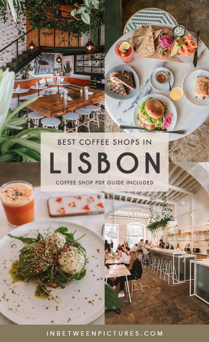 Your guide to the best coffee shops in Lisbon or Lisboa Portugal – where to eat, have breakfast, or brunch. What's the coffee scene and coolest cafes in Lisbon. #Lisbon #Portugal #Europe #TravelBlog