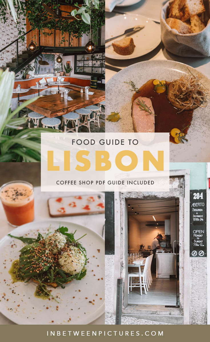 Lisbon food guide - where to eat in Lisbon and the best coffee shops in town #Europe #Portugal #TravelFoodie