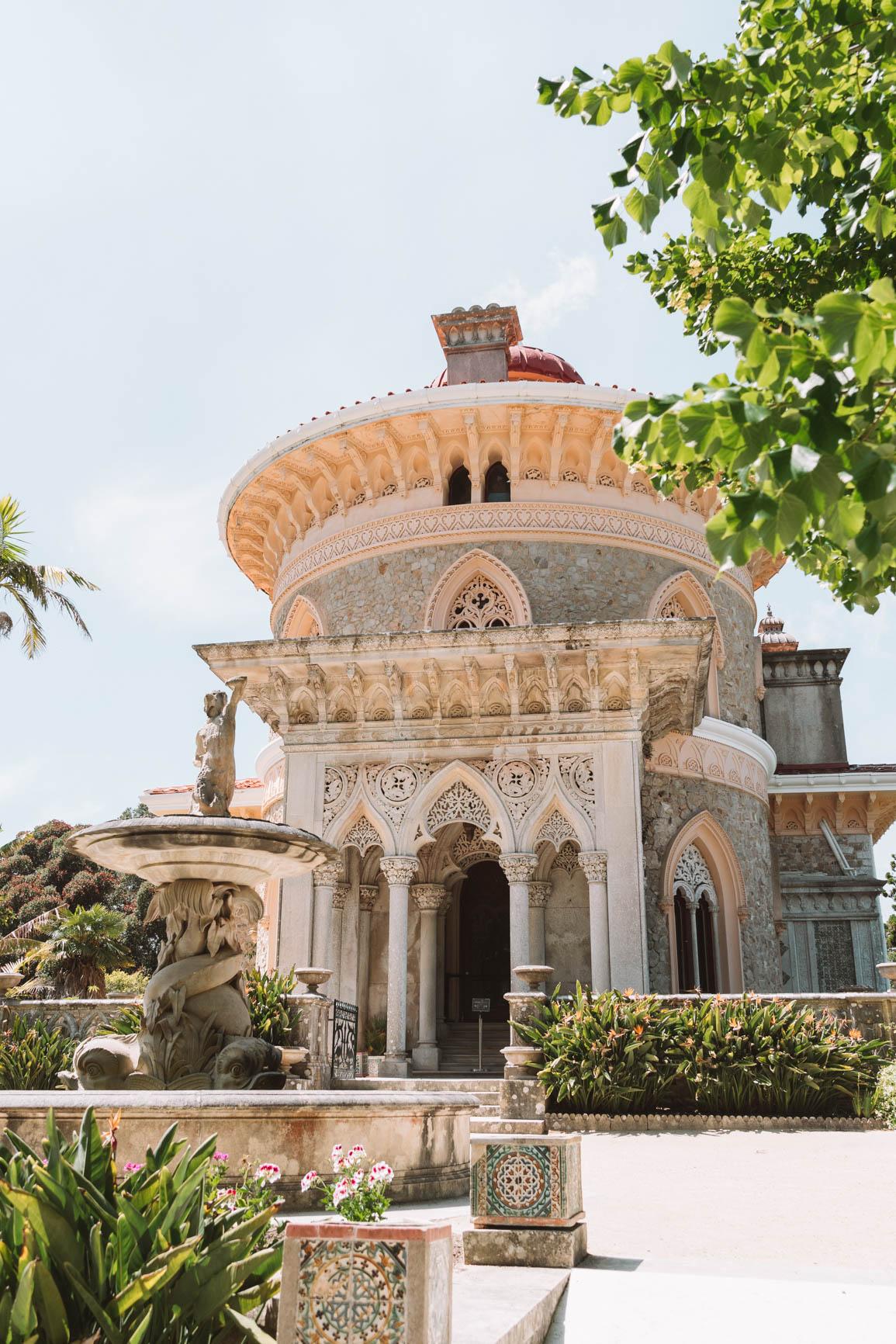 Sintra Palacio de Monserrate - Portugal road trip
