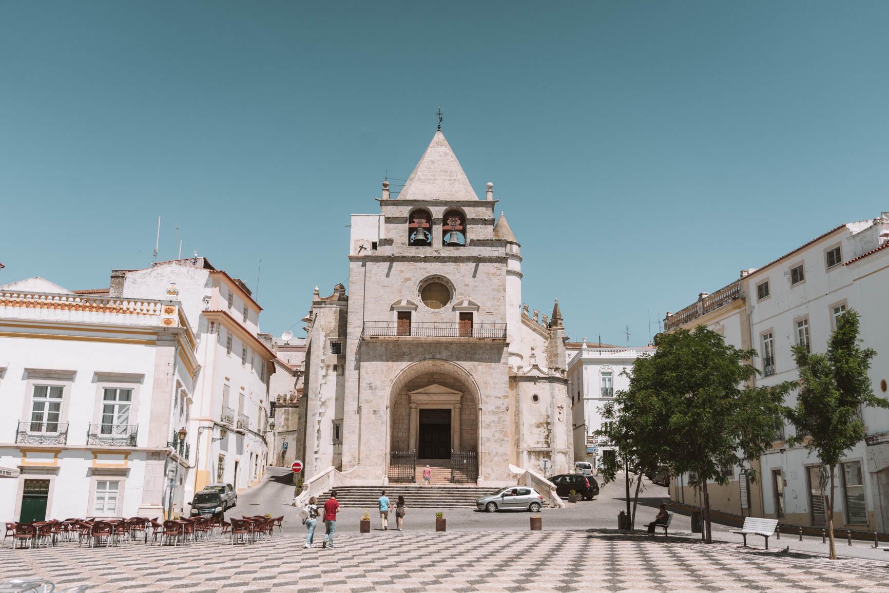 Elvas Portugal small town