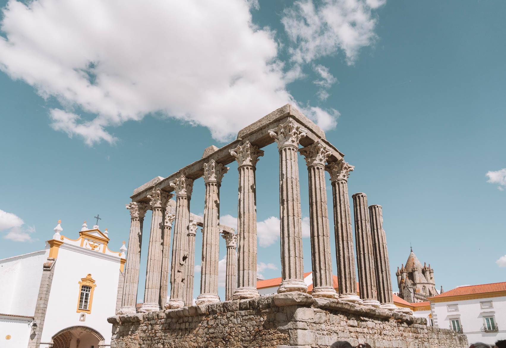 Evora Alentejo - Exploring 10 days exploring Portugal on a road trip #Europe #Portugal