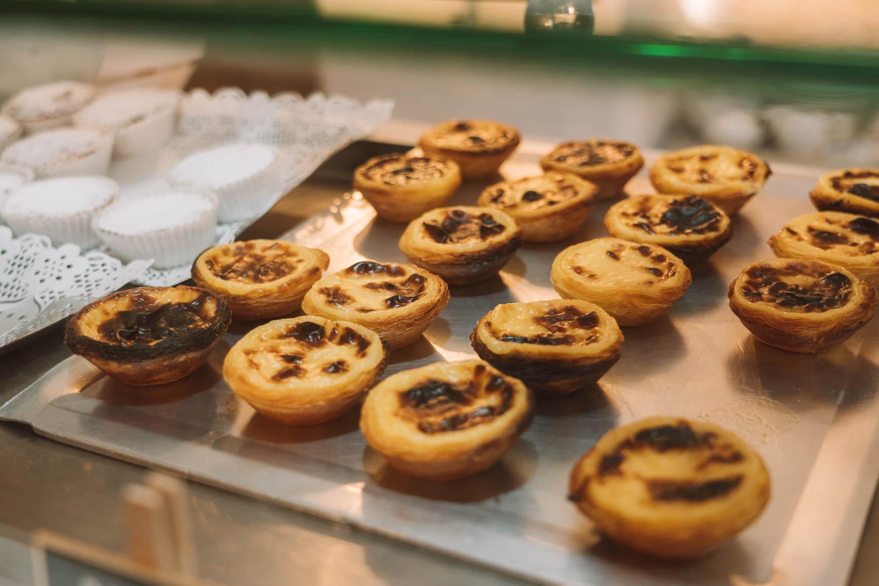 Pasteis de Nata Portugal traditional sweet