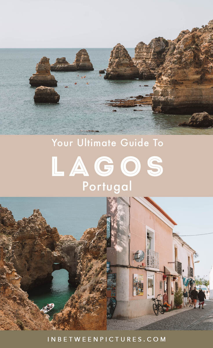 Ultimate guide to Lagos Portugal - Including 3-day itinerary, and guide to things to do, best beaches, and where to eat in Lagos, Algarve, Portugal #Portugal #Europe.