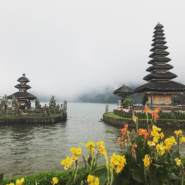 My guide said that they place temples by all beautiful natural places. That makes them holy so that people respect them and take care of the land. How lovely! #holybali