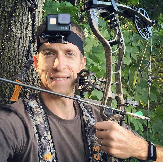 Day 1 of archery season! Life is good in a tree.