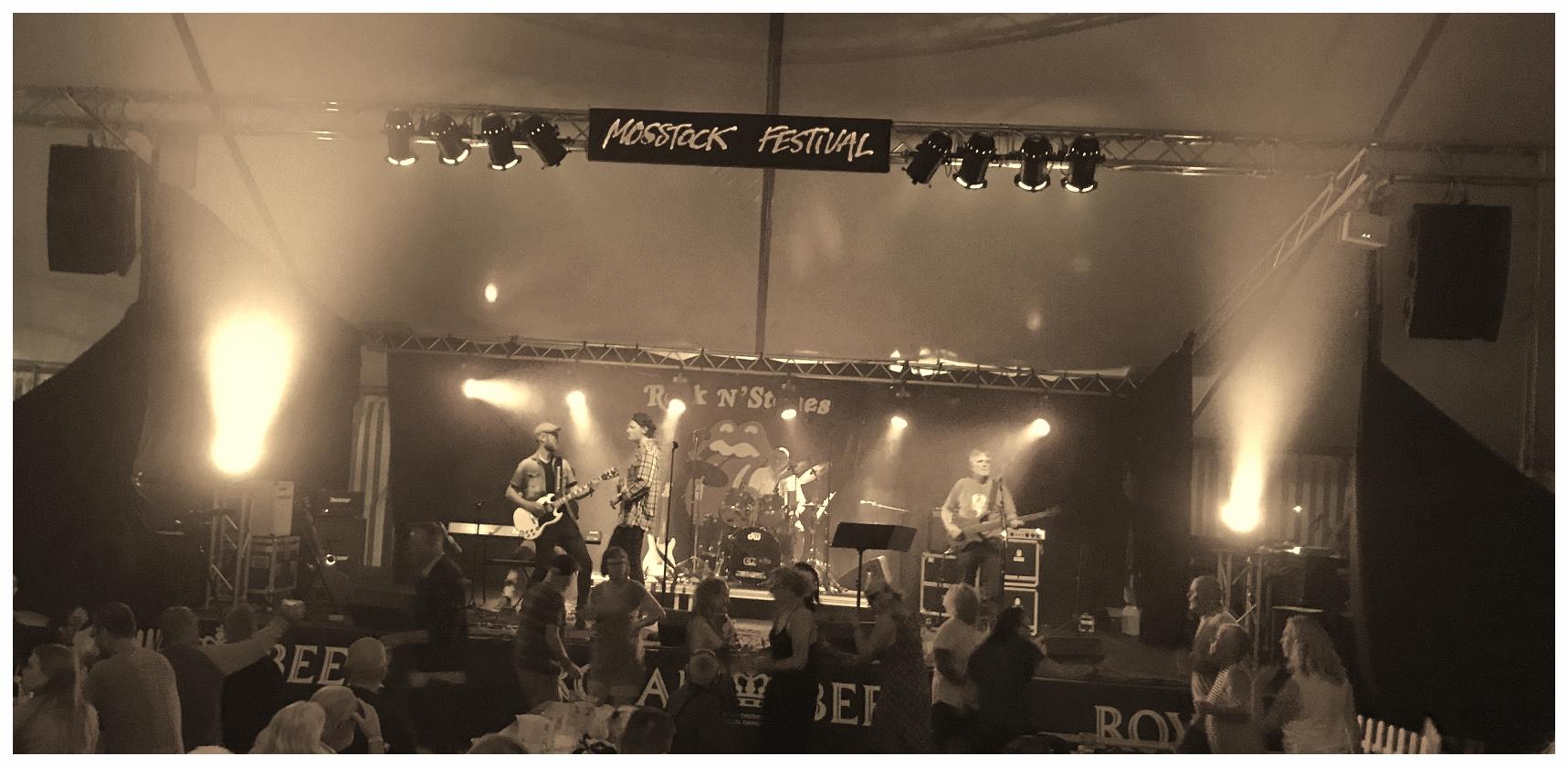 Se TV2 Østjyllands LIVE produktion af Rock N' Stones fra Mosstock Festival 2018