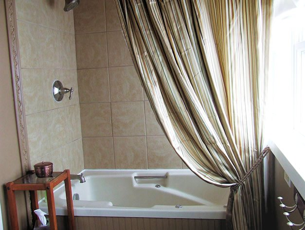 Shower & Bath - with jetted bathtub
