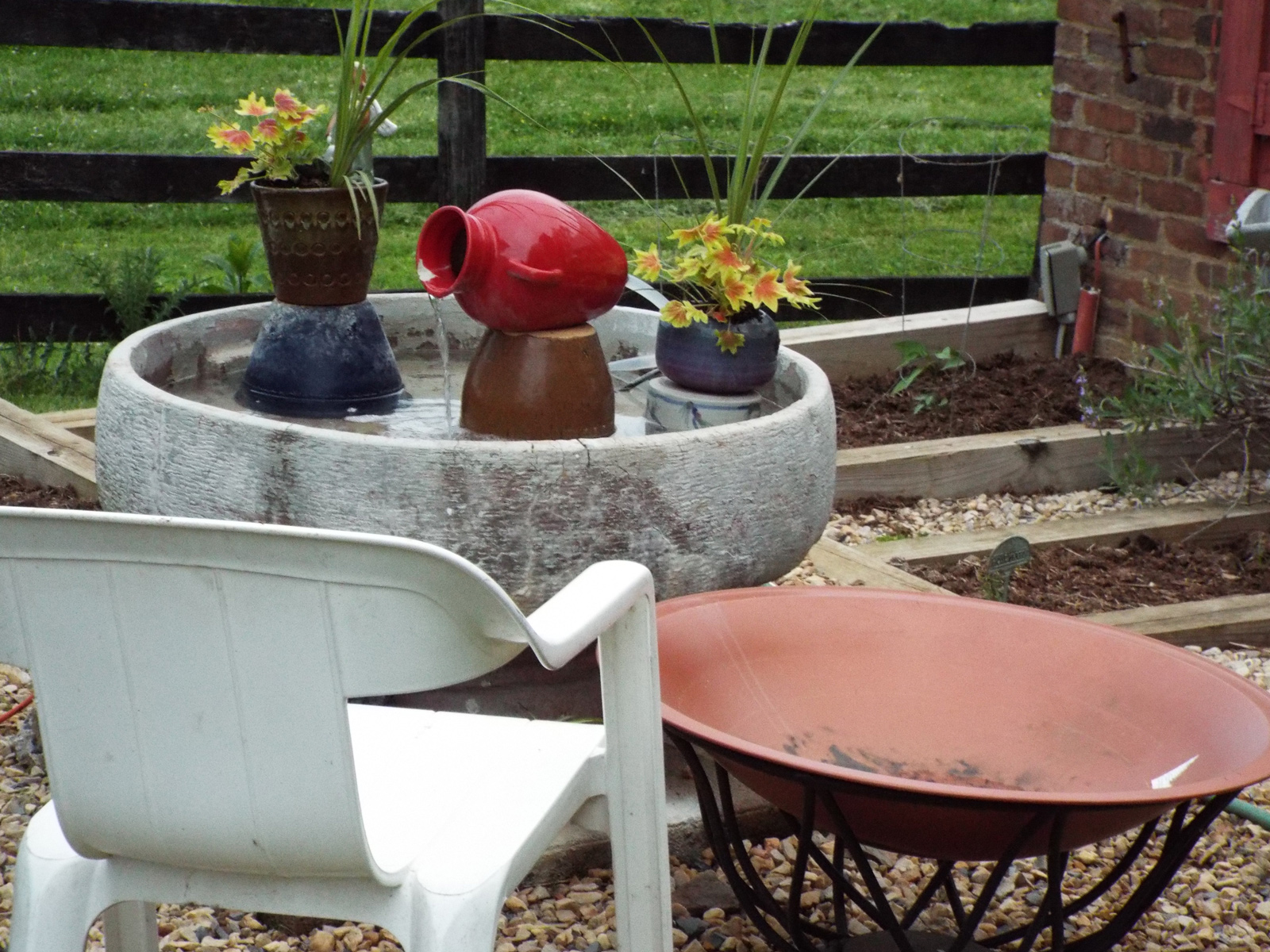 Copper Fire Pit - & BBQ Pit