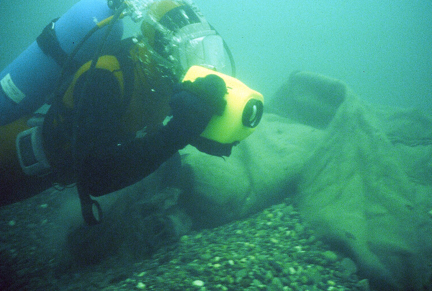 Gravel Bag Dive Inspection