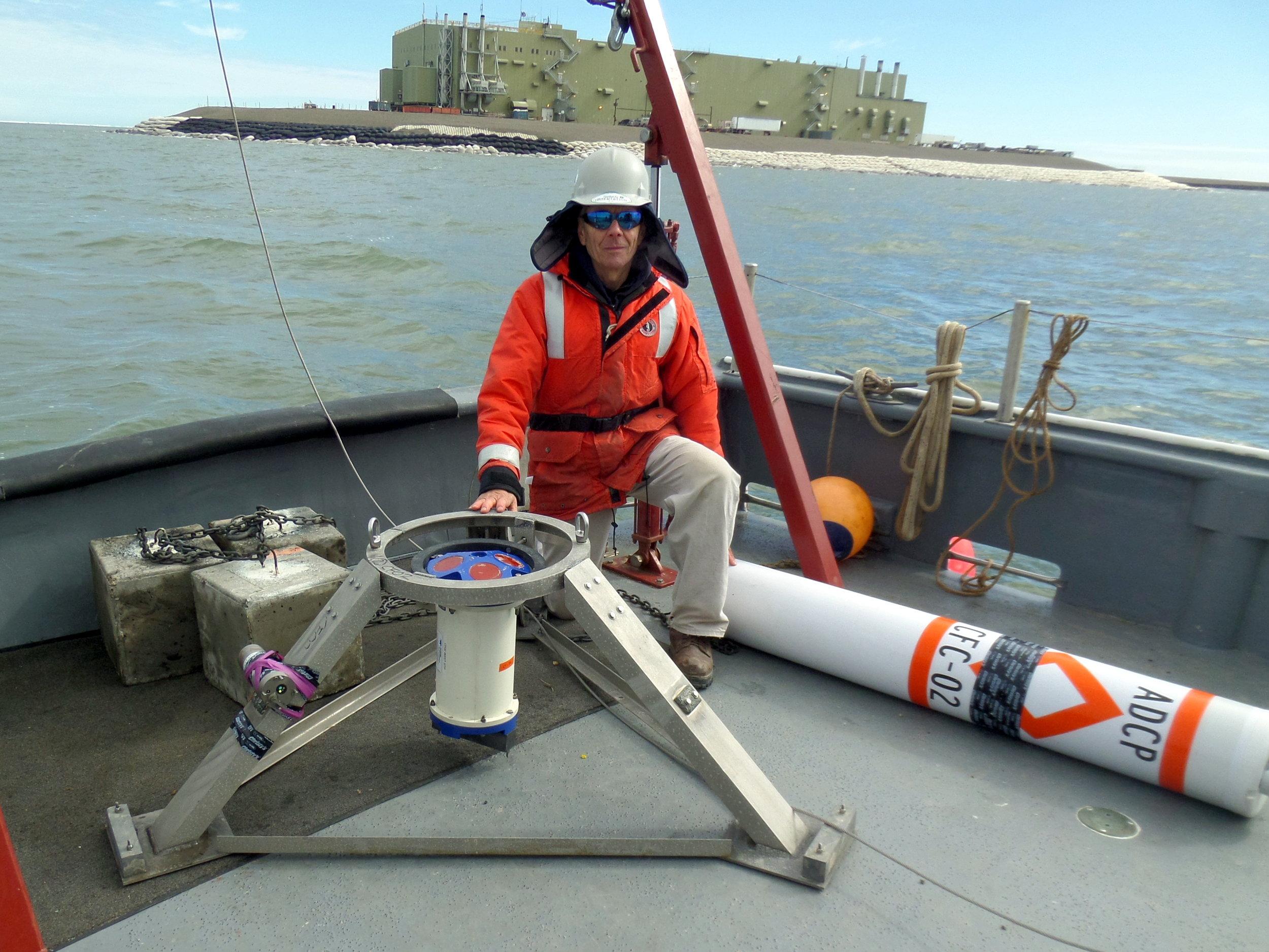 Current Meter Deployment - Beaufort Sea, Alaska