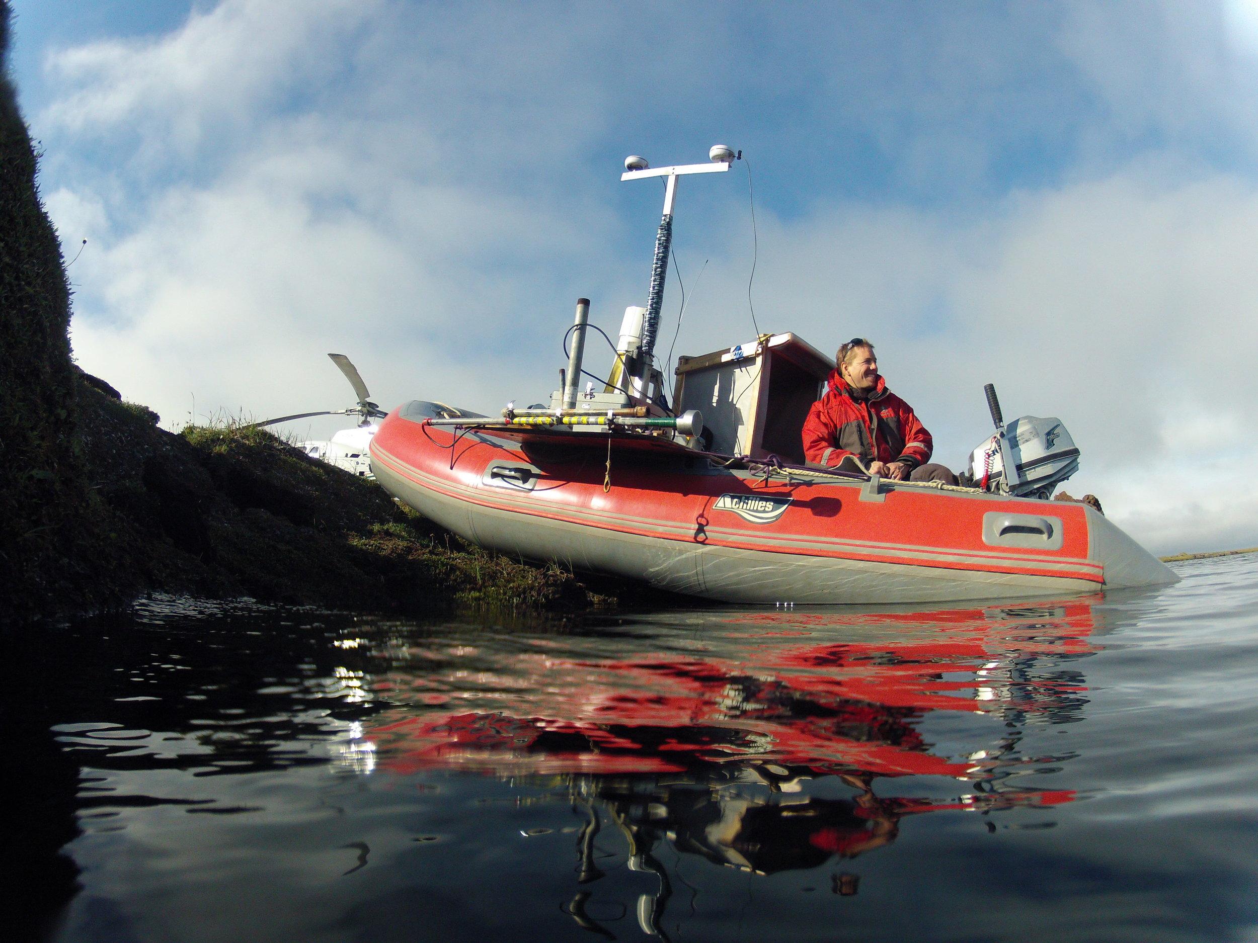 Bathymetric Survey - Lake