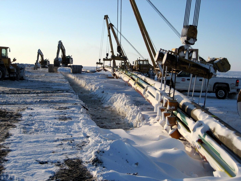 Arctic Subsea Pipeline Installation