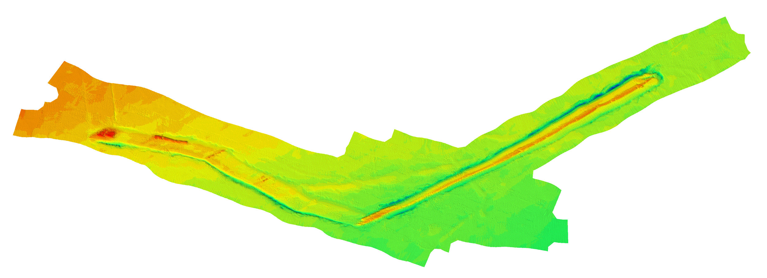 Seabed Bathymetry - Ice Gouge