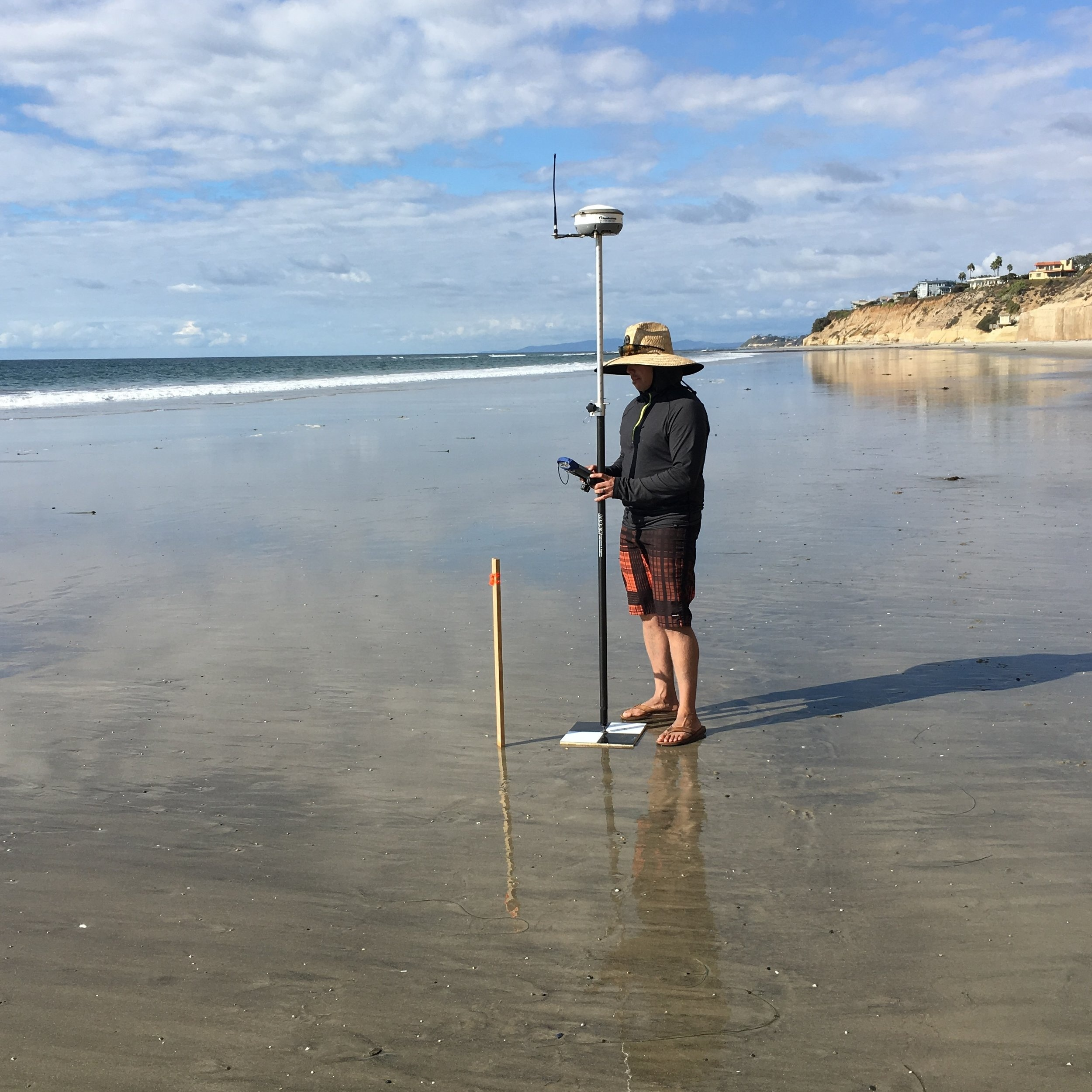 BEACH PROFILE SURVEYS -