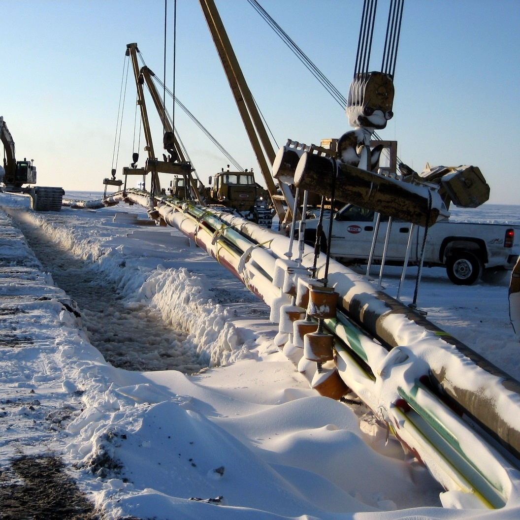 ARCTIC SUBSEA PIPELINE INSTALLATION SUPPORT -