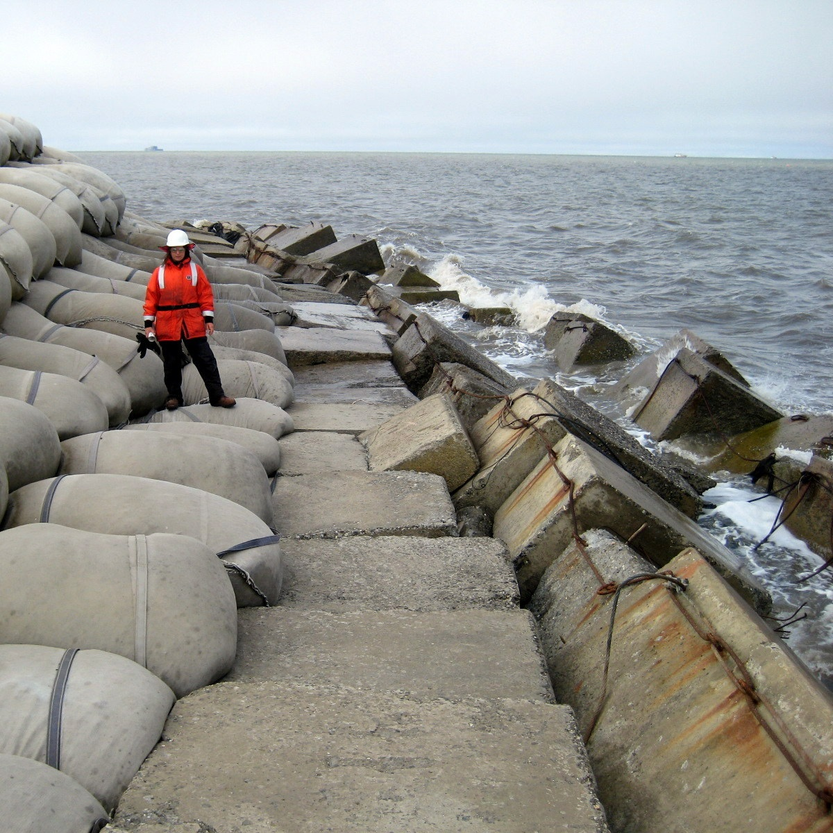 WEST DOCK EROSION CONTROL AND SLOPE PROTECTION STRATEGY -