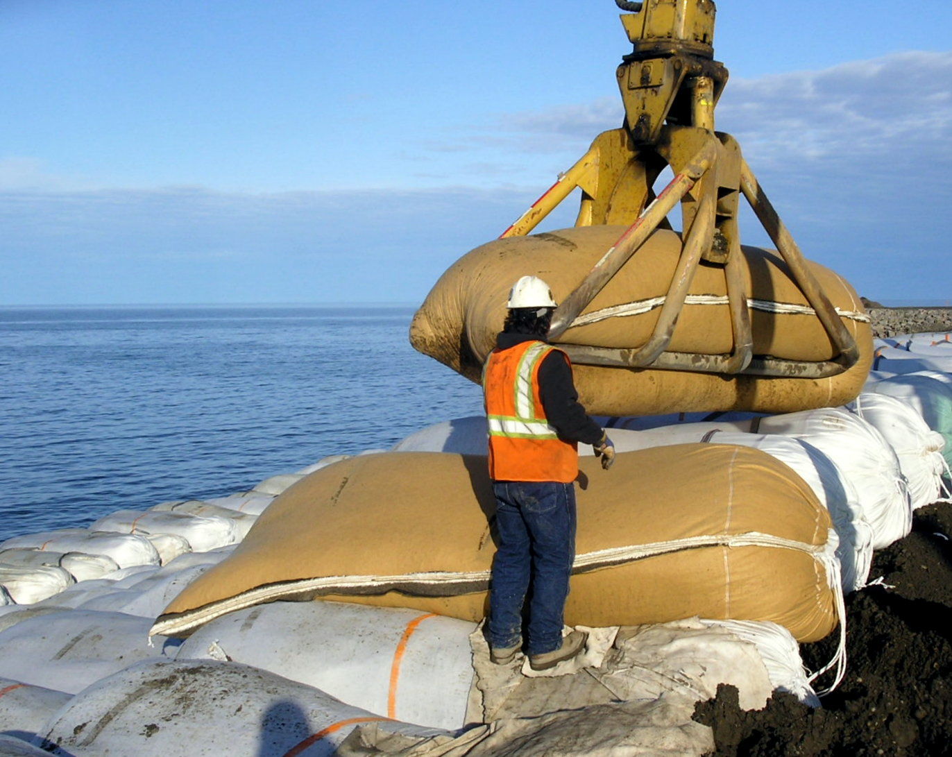 Prototype Testing of Long-Life Geotextile Bags
