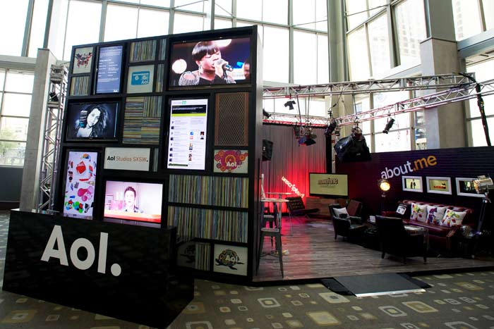 SXSW AOL Studio 2011 | Photo courtesy of Fresh Wata
