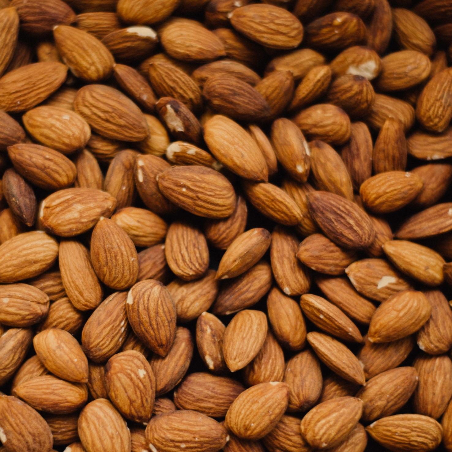 Pure Almond Butter - Our almond butter is 100% ground roasted almonds.