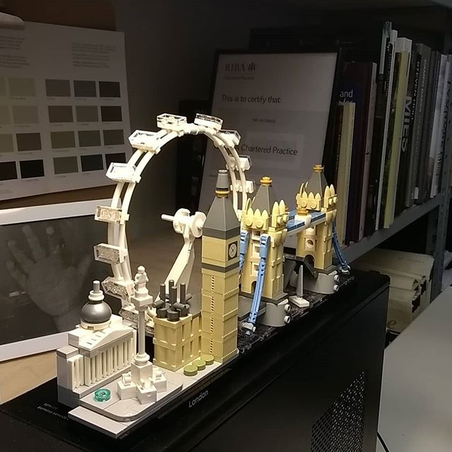 London at your fingertips. #london #architecture #lego #officelego