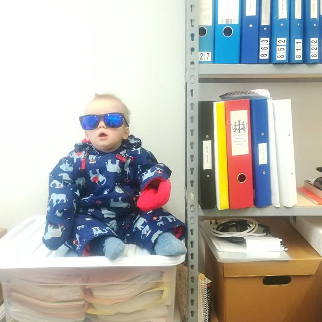 Interns aren't what they once were. #thug #thuglife #dudeatworkday  photo credit: Karolina Tarkowska
