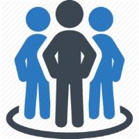 teams icon, people, circle