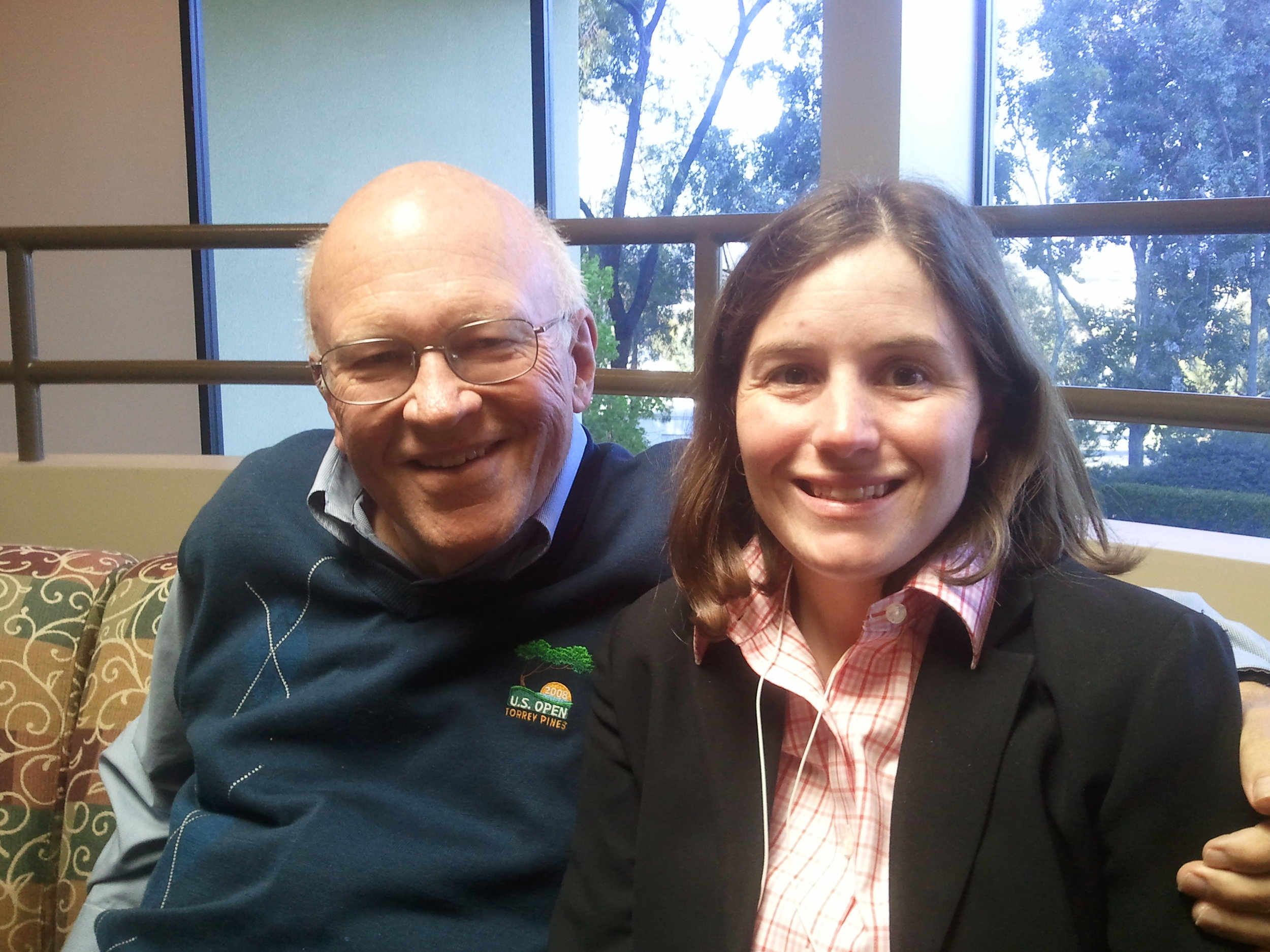 Sarah Scala and Ken Blanchard, Founder of Situational Leadership II