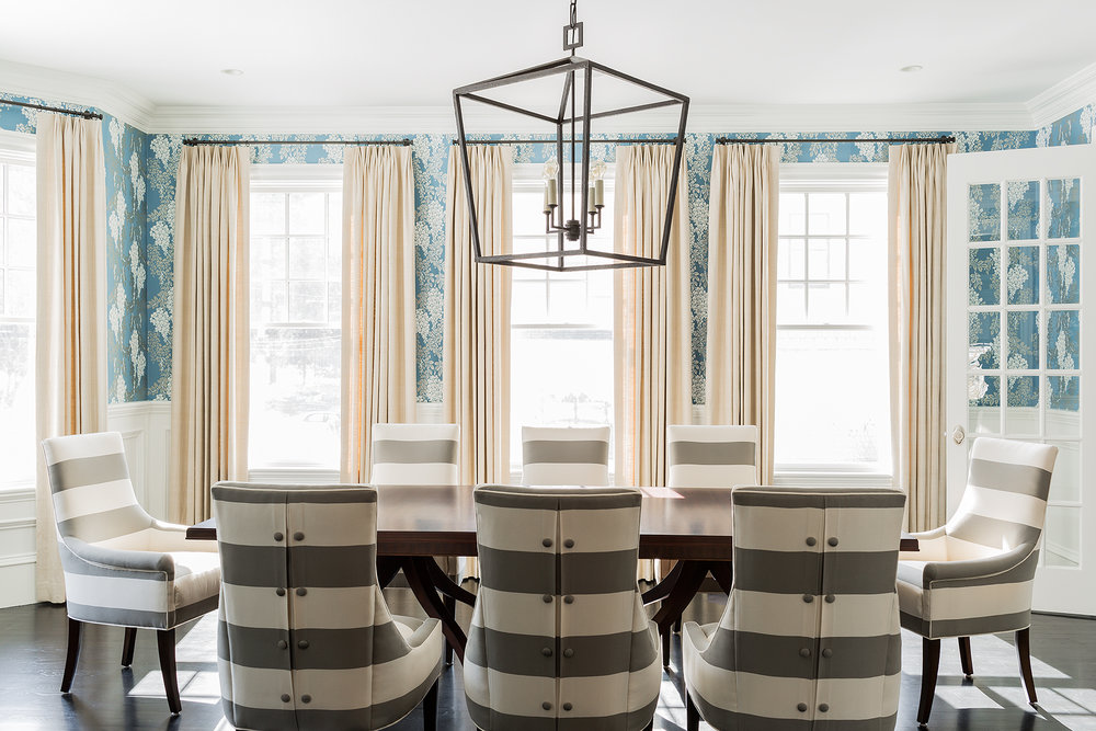 NEWTON PROJECT    An elegant space to entertain for this growing family.