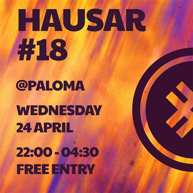 Let's give winter a proper goodbye and dnb our way to summer @palomarvkmusic next Wednesday!! . . See you there!! 🔥🔥
