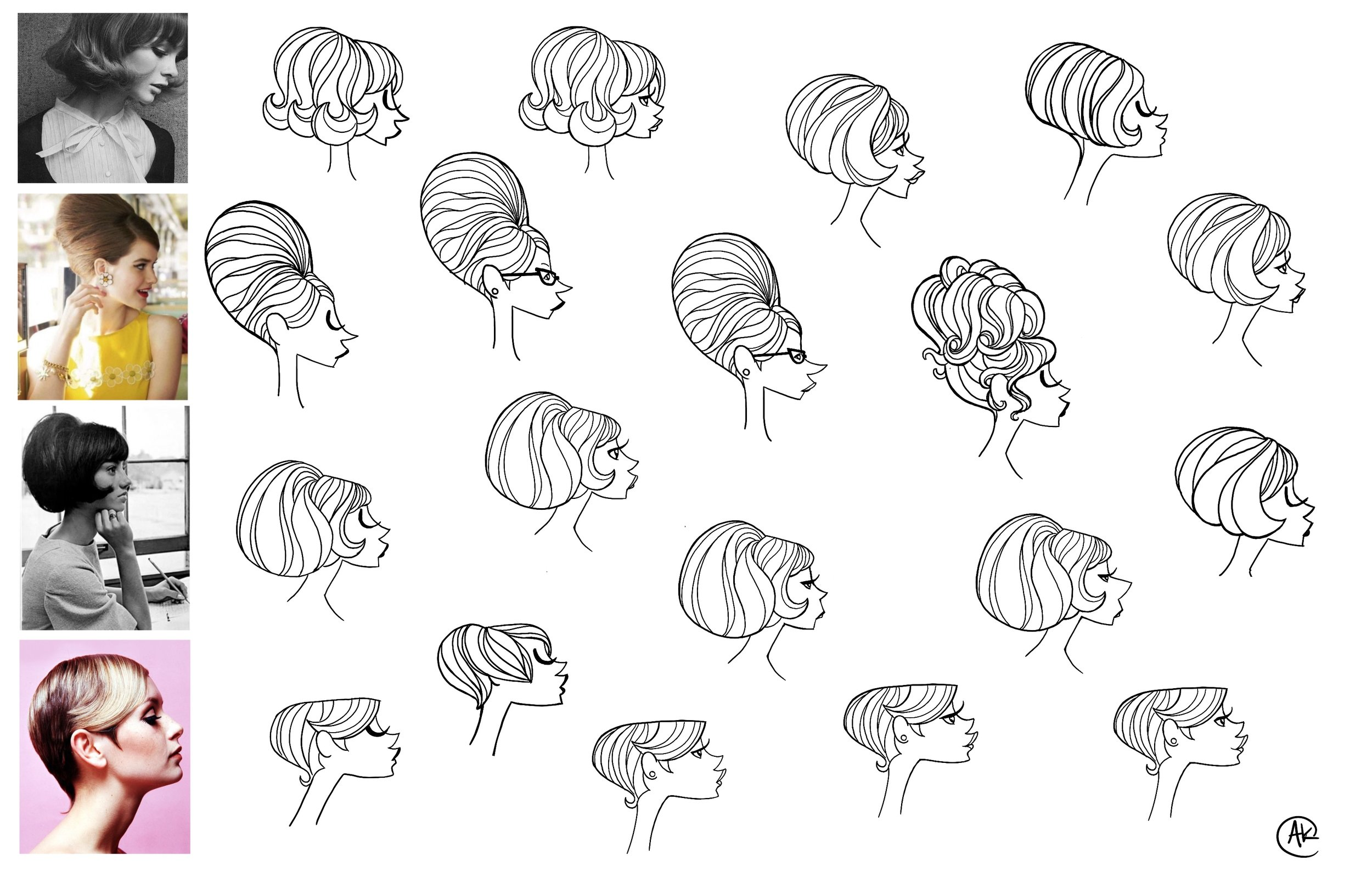 Head & hair explorations