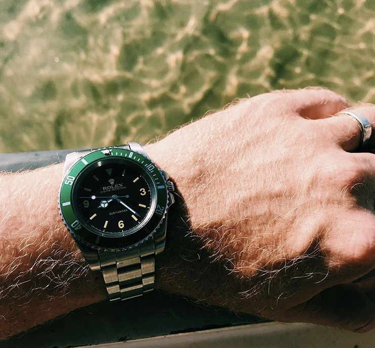 My Rolex Kermit Submariner by the sea in Sanur, Bali. Shot by me on iPhone 7.
