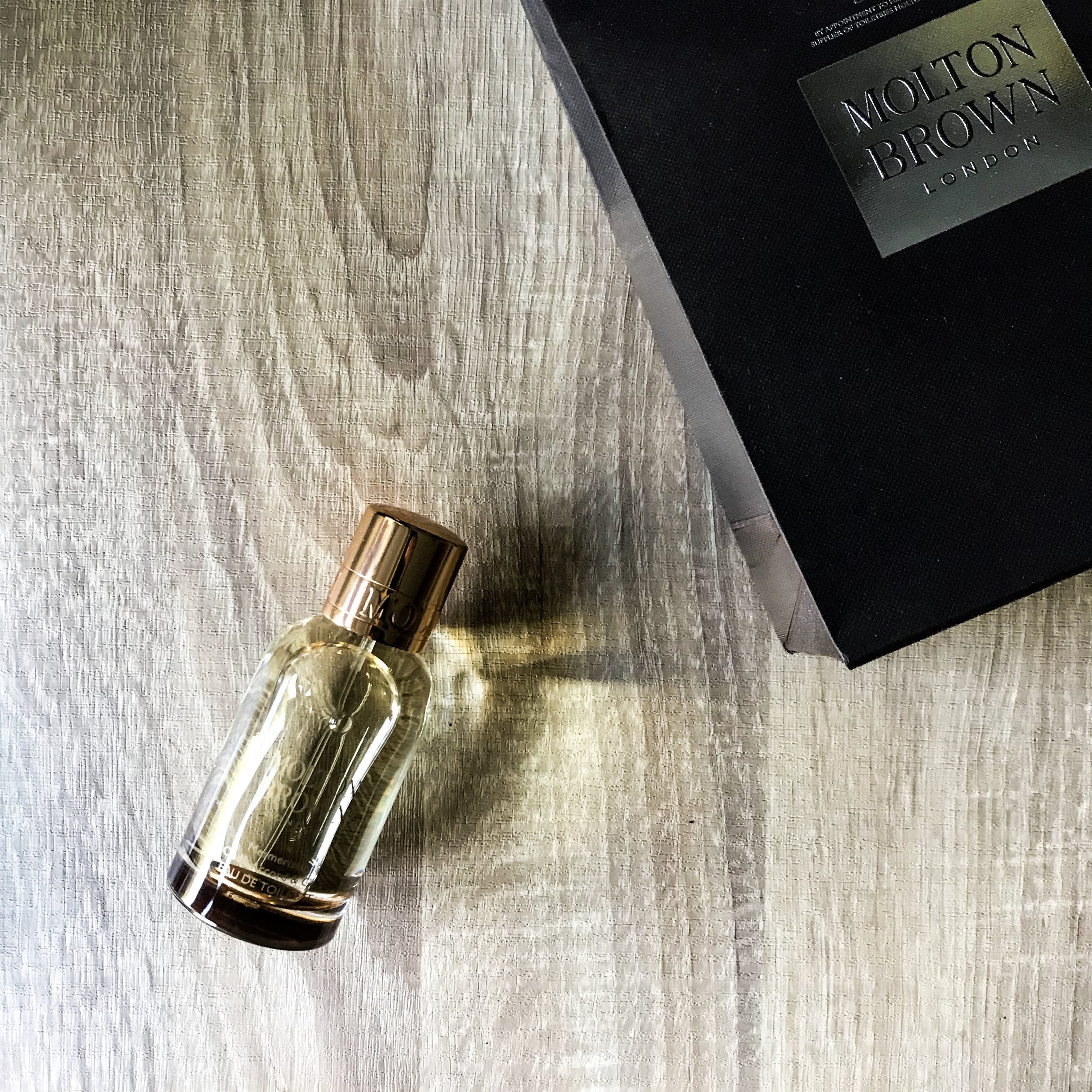 Oudh Accord and Gold by Molton Brown