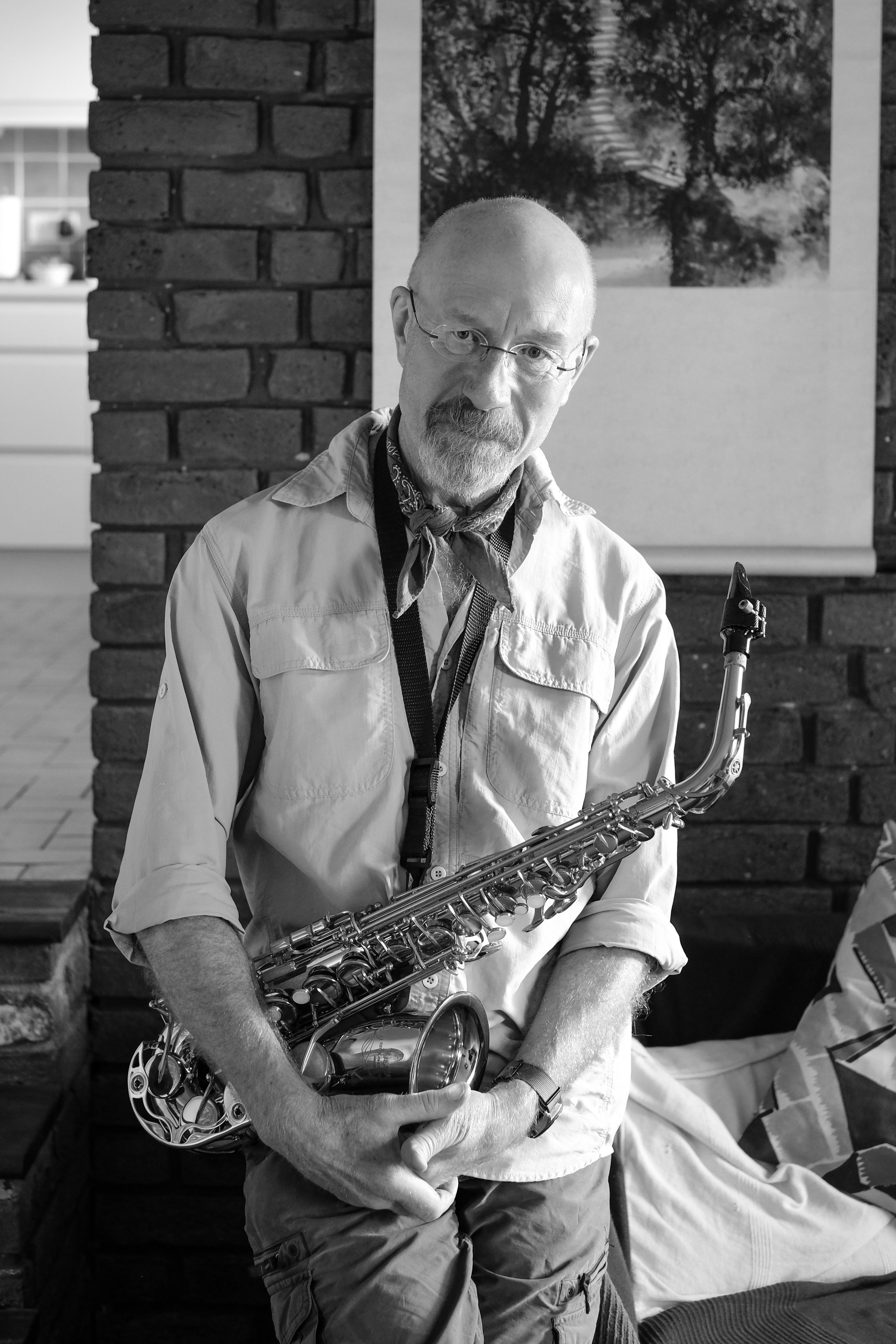 Resident: musician, Clive Massey.