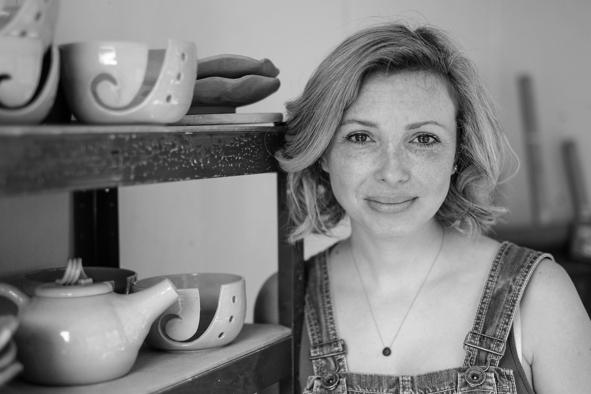 Resident: ceramicist, Kara Leigh Ford.