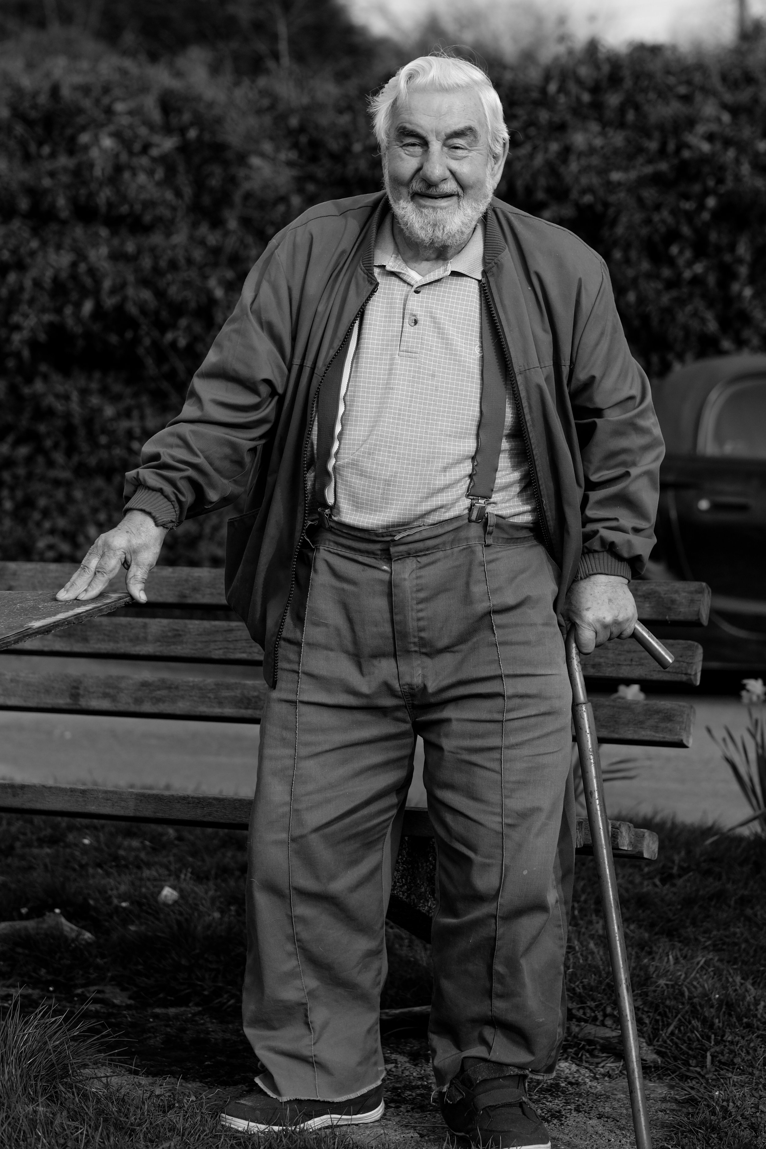 Resident: local legend, Ted Ford.