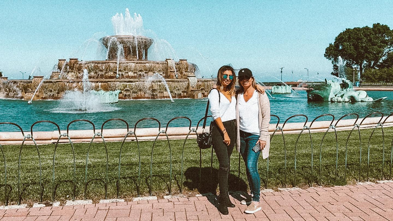 Buckingham Fountain tara michelle
