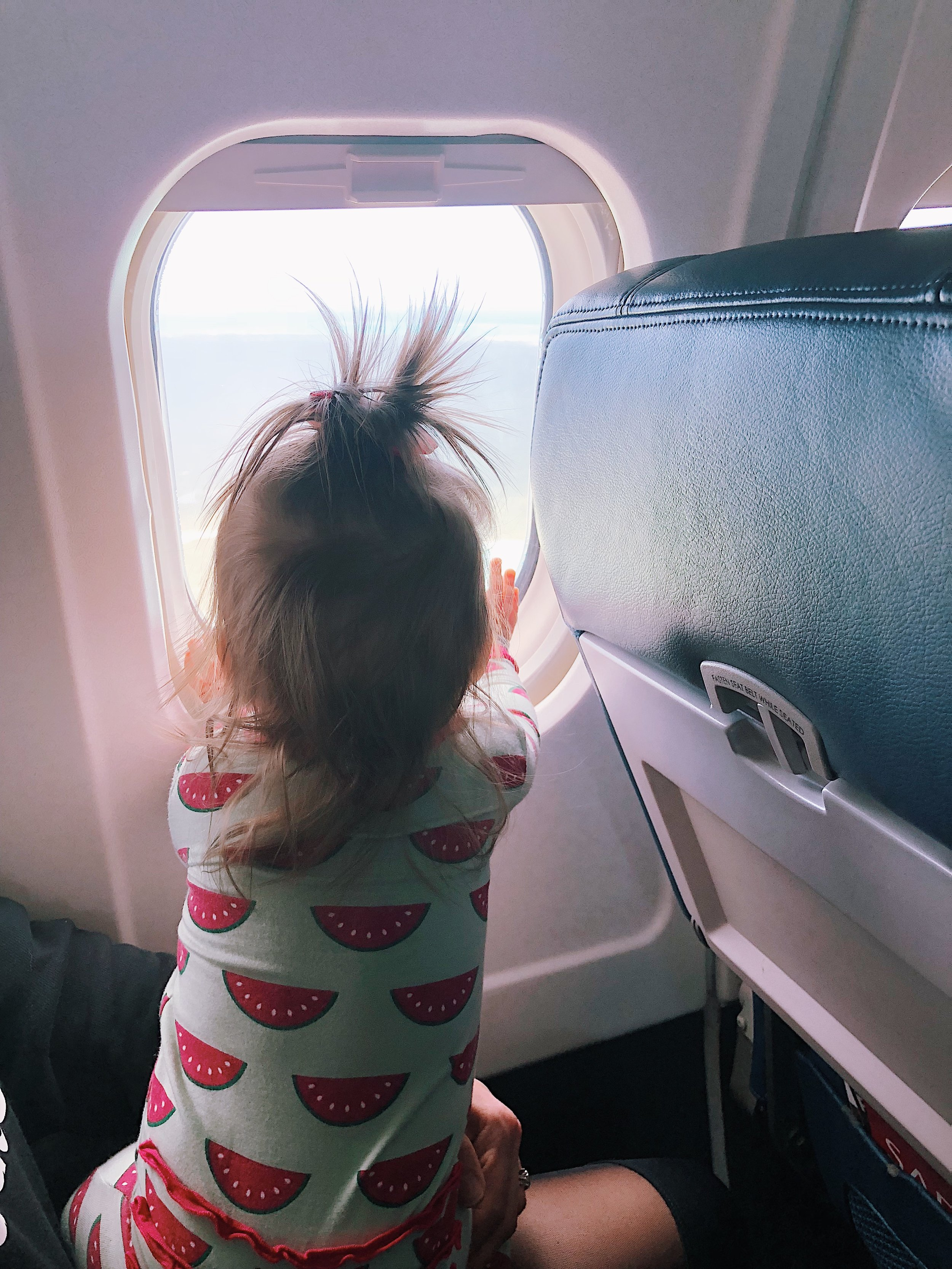 Traveling with a baby - All in with Angie