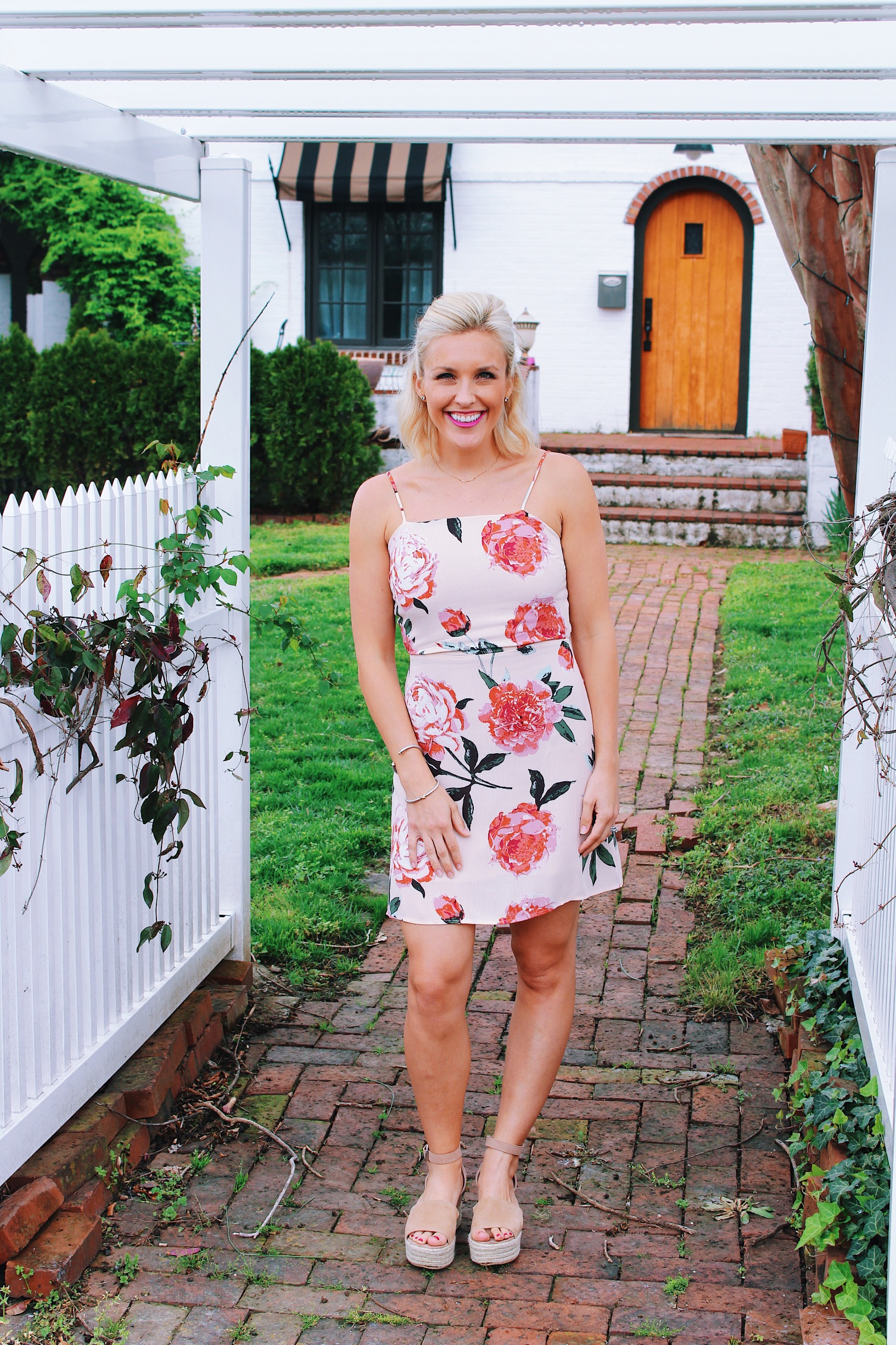 Floral Dress - All in with Angie