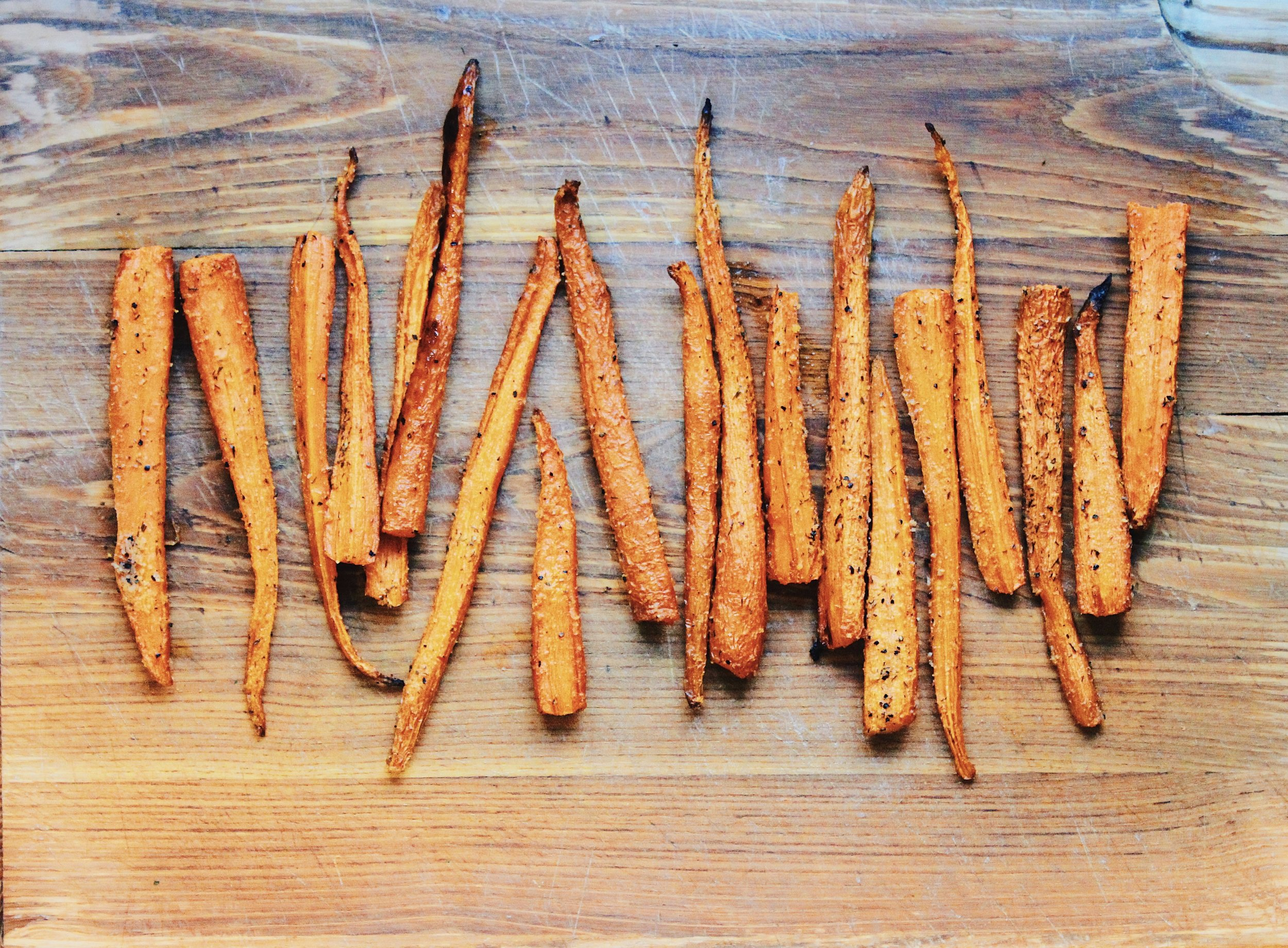 ROASTED CARROTS - ALL IN WITH ANGIE
