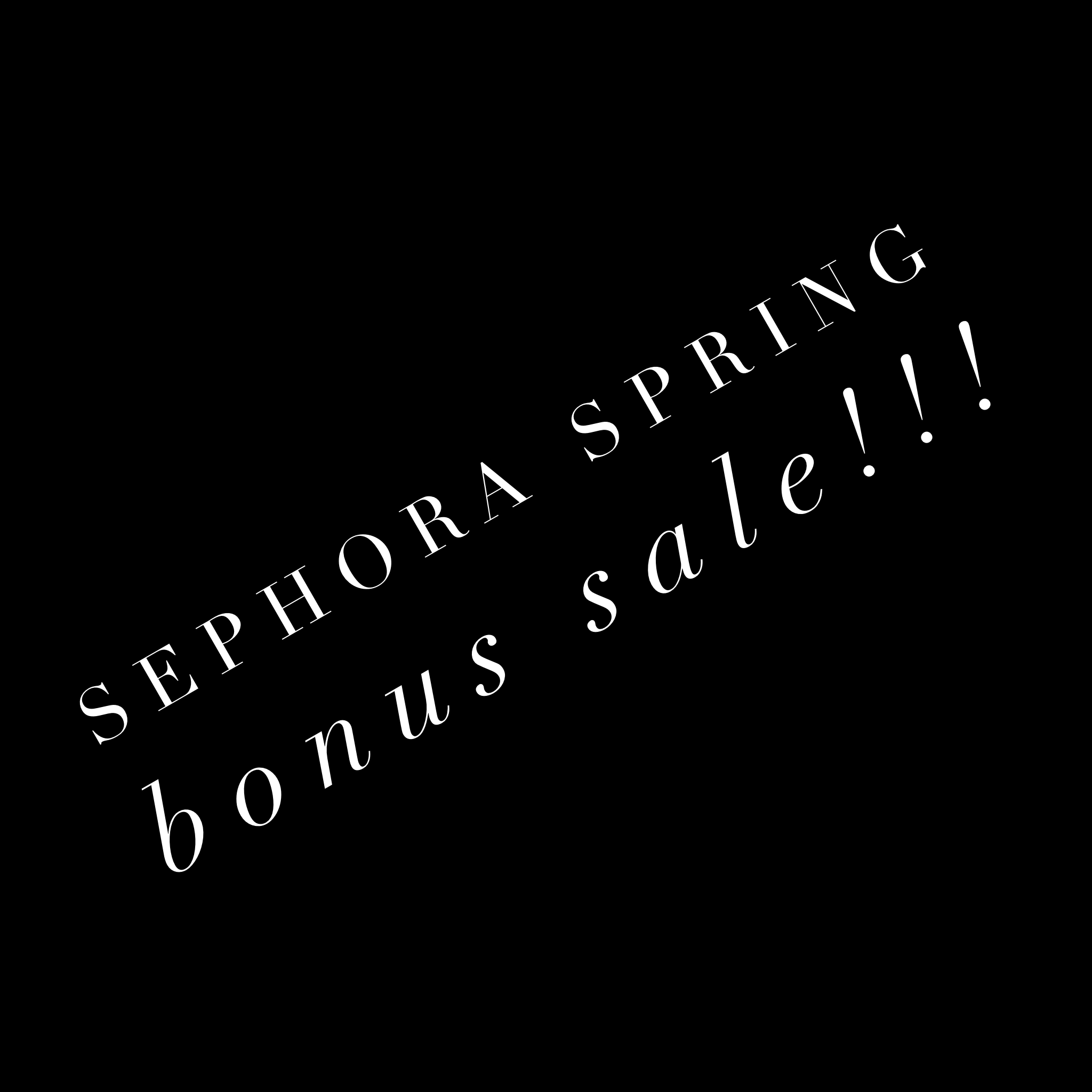 Sephora Sale - All in with Angie