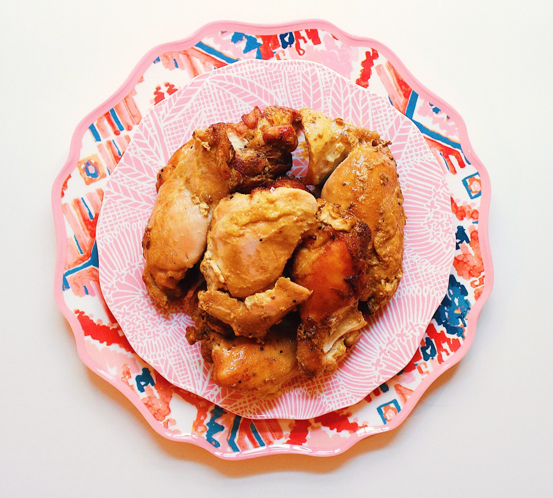 Chicken thighs recipe - All in with Angie