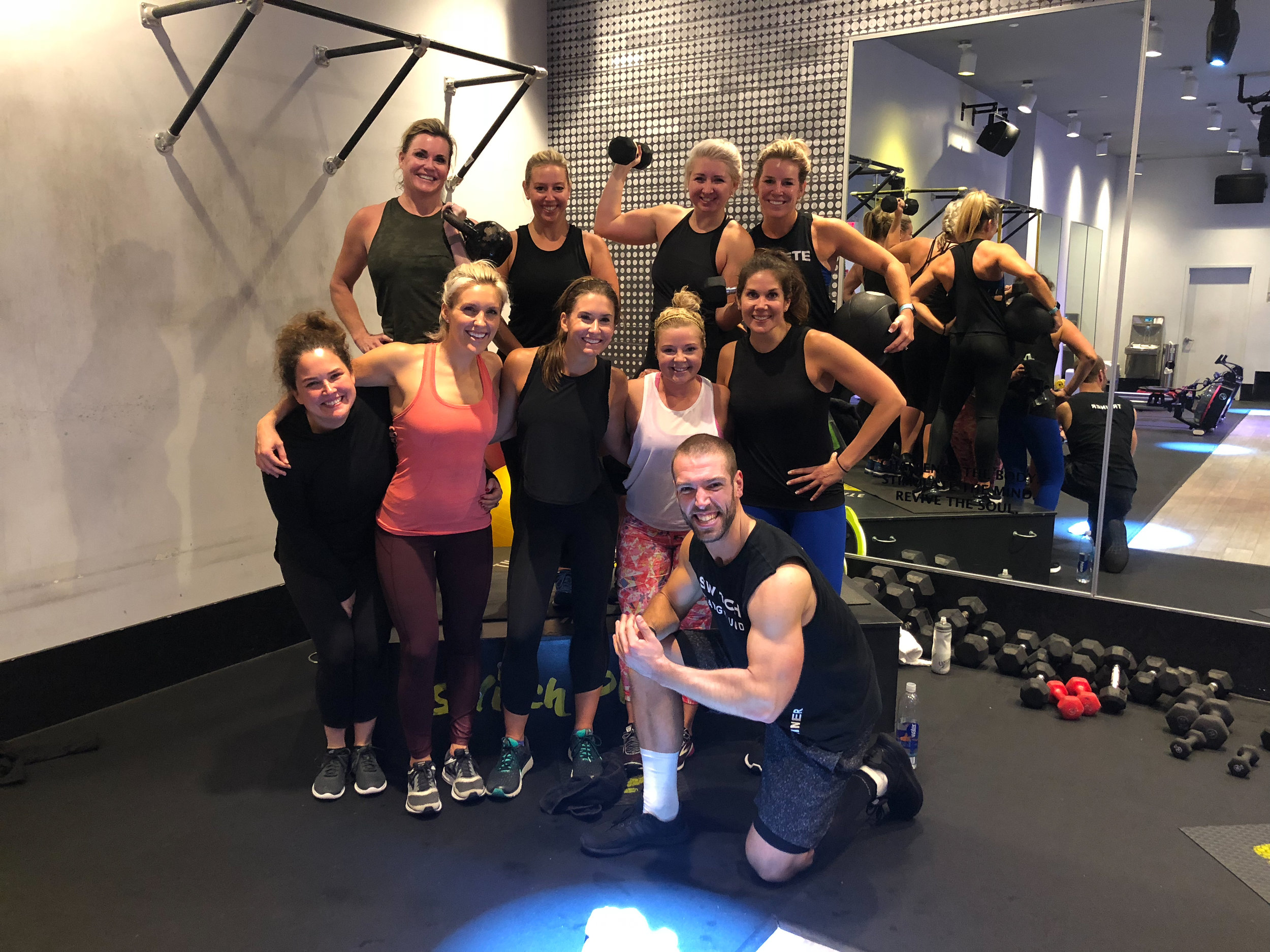 NYC Workout Crawl - All in with Angie